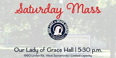 Saturday Celebration of Mass tickets