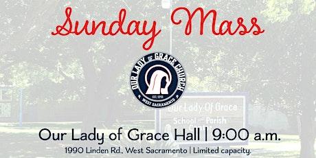 Sunday 9 a.m. Celebration of Mass tickets