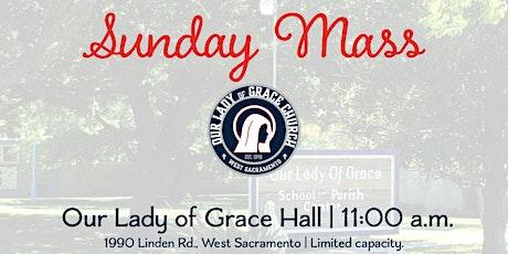 Sunday 11 a.m. Celebration of Mass tickets