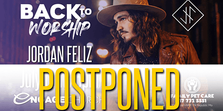 Back to Worship with Jordan Feliz tickets