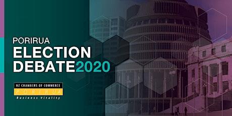 Porirua Election Debate 2020 tickets