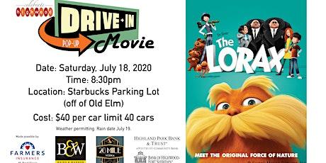 Drive In Movie Night tickets
