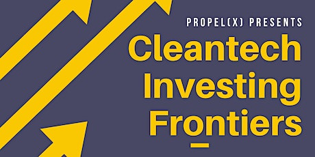 Panel: Cleantech Investing Frontiers tickets