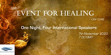 The Event for Healing On-Line tickets