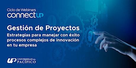 Webinar sobre Gestión de Proyectos entradas