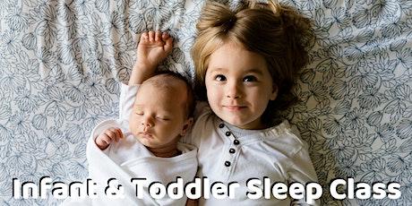 Online Infant & Toddler Sleep Class tickets