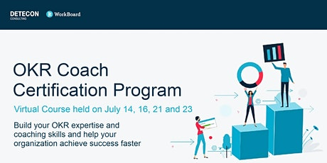 Virtual OKR Coach Certification for US & Europe in July tickets