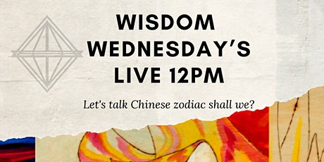 Wisdom Wednesdays: Zodiac Sessions with Grace Noel tickets