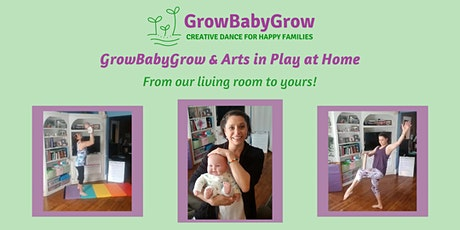 GrowBabyGrow & Arts in Play  - Virtual Family  Playgroups! tickets