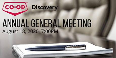 Discovery Co-op 2020 Annual General Meeting tickets