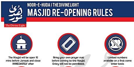 Jummah Prayer @ Masjid Noor E Huda - The Divine Light tickets