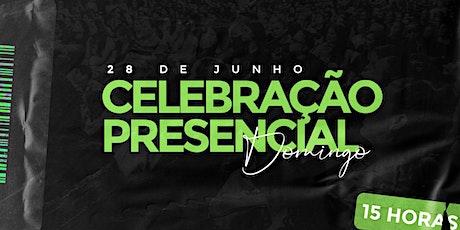 Celebração Presencial | 19:30 Horas | Igreja da Família - Tejipió ingressos