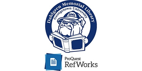 RefWorks 101 @ DML Webinar tickets