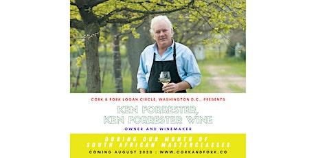 Ken Forrester Wines: Ken Forrester, Owner/Winemaker tickets