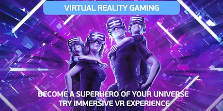 Virtual Reality Gaming tickets