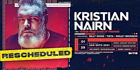 KRISTIAN NAIRN [at] SITE 1A tickets