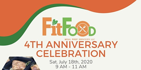 Fit Food 4th Anniversary Celebration tickets