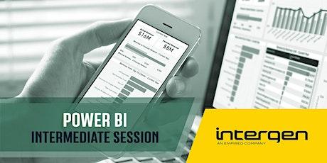 Microsoft Power BI training: Intermediate tickets