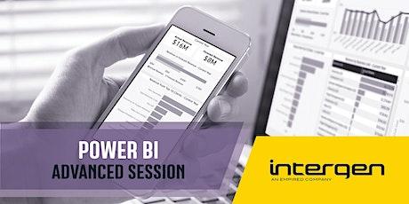 Microsoft Power BI training: Advanced Data Shaping & Modelling tickets