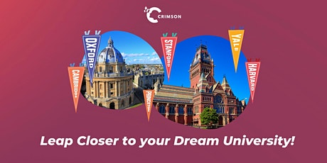 Leap Closer to Your Dream University: ONLY `TEN 1-on-1 SESSIONS AVAILABLE! tickets