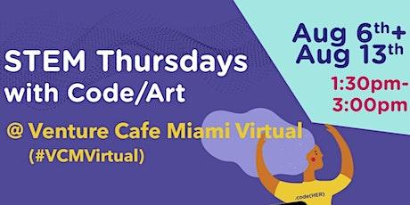 Code/Art @ Venture Cafe STEM Thursdays tickets