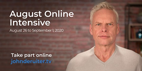 August Online Intensive with John de Ruiter tickets