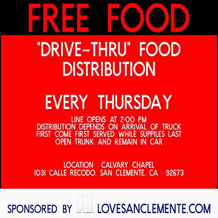 DRIVE THRU FOOD DISTRIBUTION image