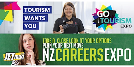Go with Tourism Expo in partnership with NZ Careers Expo  - Hamilton tickets