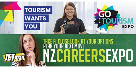 Go with Tourism Expo in partnership with NZ Careers Expo  - Wellington tickets