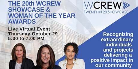 The 20th WCREW Virtual Showcase & Woman of the Year Awards tickets