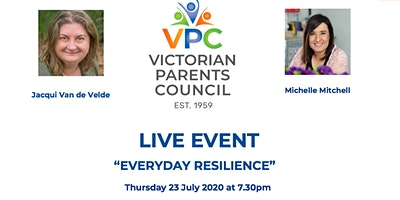 "VPC LIVE EVENT – ""Everyday Resilience"" with guest Michelle Mitchell"