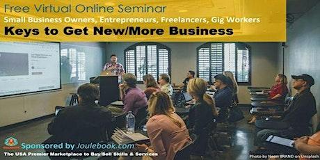 Entrepreneurs Helping Entrepreneurs Succeed (Seminar Series) tickets
