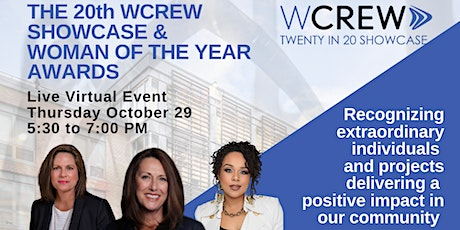 The 20th WCREW Virtual Showcase & Woman of the Year Awards Sponsorship tickets