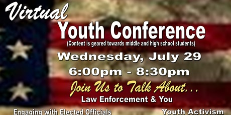 Justice Now! Justice for All! Virtual Youth Conference tickets
