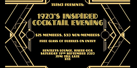 TriSci Presents: 1920's Inspired Cocktail Evening tickets