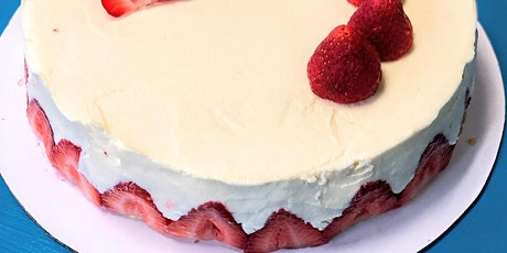 French Baking Class - Strawberry cake tickets