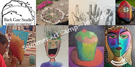 Kids' Summer Art Camp--for real! tickets