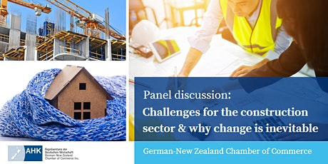 Panel discussion: Challenges for the construction sector at BuildNZ 2020 tickets