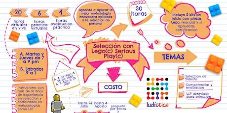 Selección con Lego Serious Play Sabatino entradas