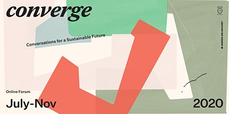 'Converge' – Conversations for a Sustainable Future tickets