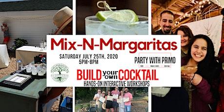 Mix-n-Margaritas! Hands-on Cocktail Making Workshop! 21 plus event tickets