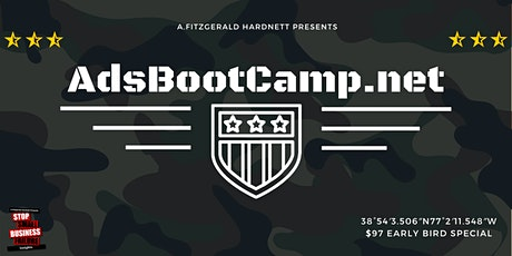 Create Your First Facebook or Instagram Ad | www.AdsBootCamp.net tickets