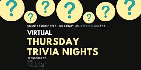 Beat the Trivia Pro - Team Mann Trivia Nights tickets