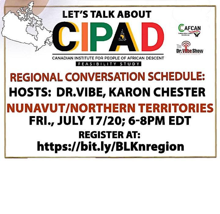 Let's Talk About CIPAD: Nunavut/Northern Territories Regional Conversation image
