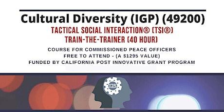 Cultural Diversity - TSI® Train-the-Trainer - Sacramento - Fall 2020 tickets