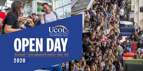 UCOL Manawatu Open Day tickets