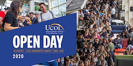UCOL Manawatu Open Day tickets