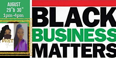 Black business matters Pop up shop #Esva tickets