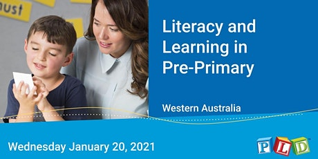 Literacy and Learning in Pre-Primary January 2021 tickets