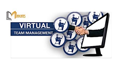 Managing a Virtual Team 1 Day Training in Frankfurt tickets